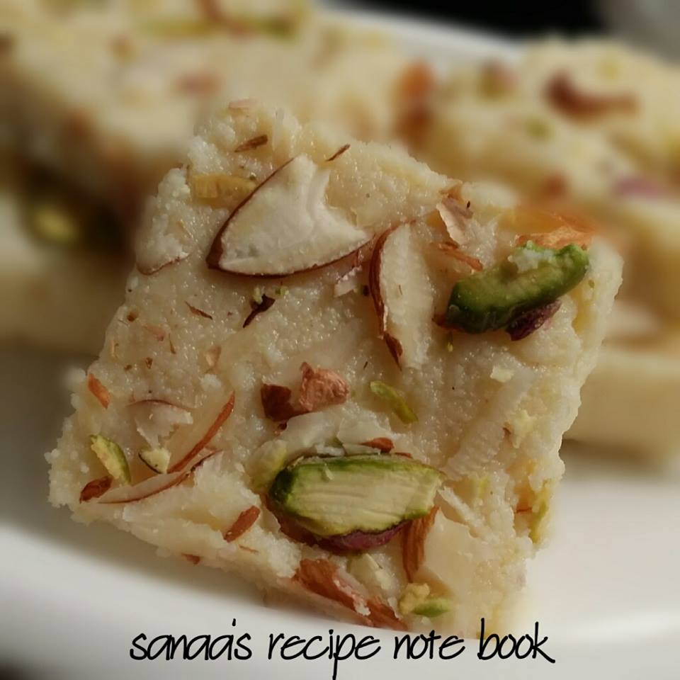 Diwali sweets - sanaa's recipe